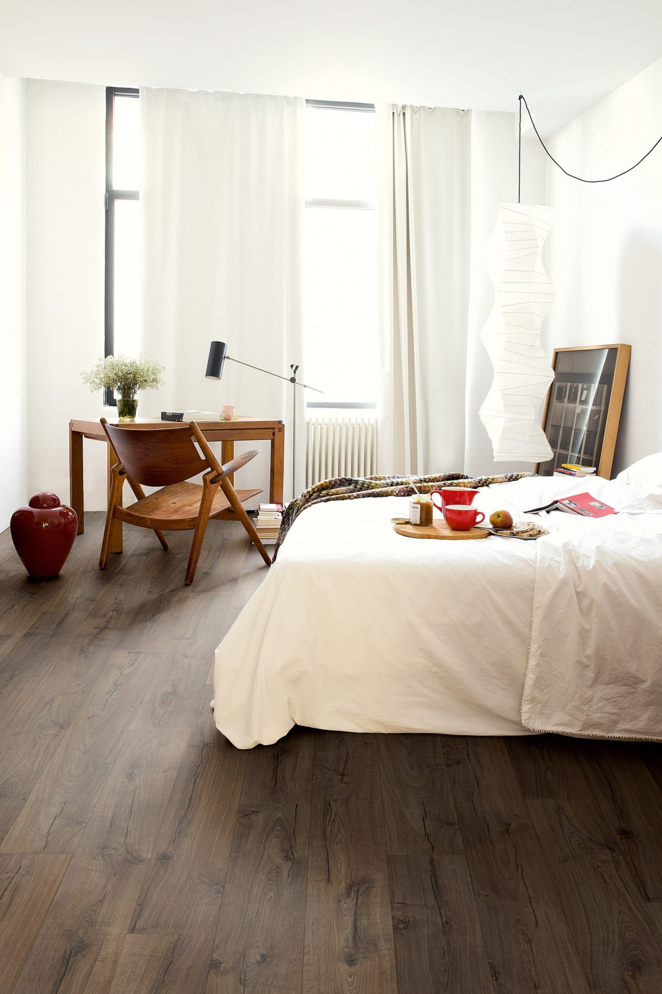 Flooring occupies a huge amount of real estate in a room so you can use it to make a serious style statement.