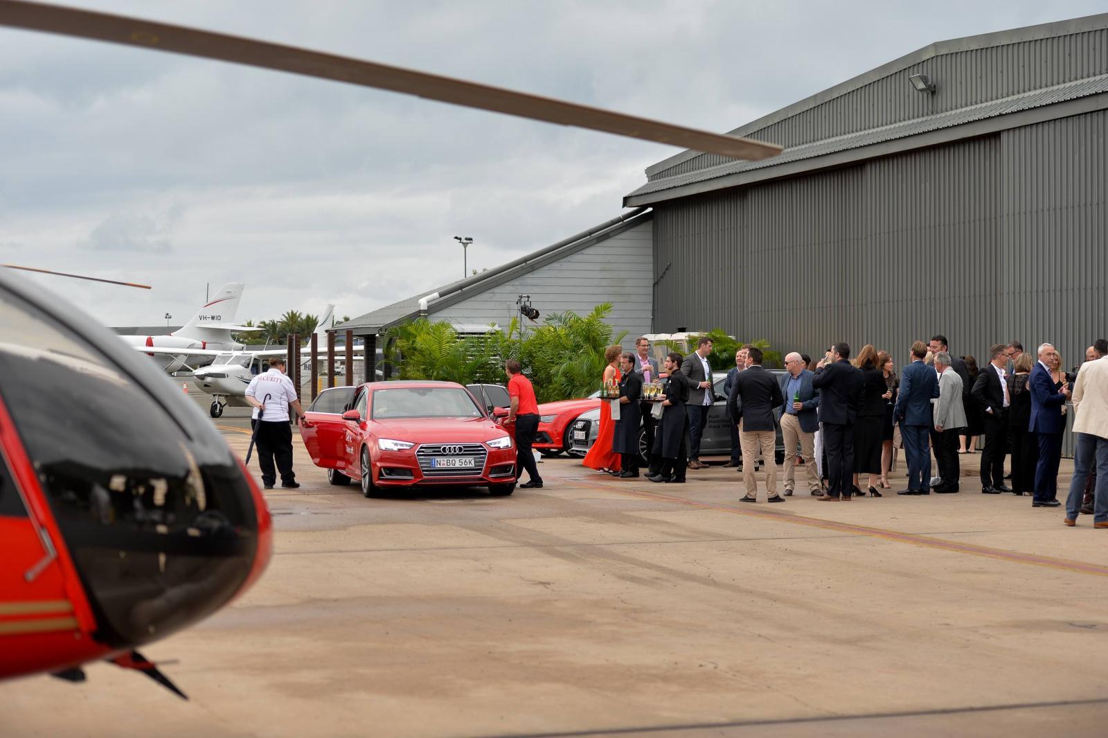 AHIRW 2016 Audi Hosted secret dinner @ the hanger - arrivals - photo- Ken Butti(0014)