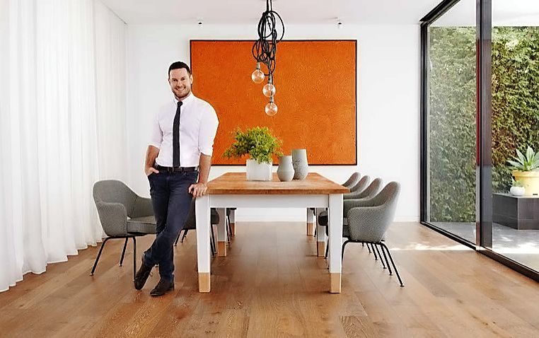 Darren Palmer. Photo: Supplied - Carpet Court flooring collection Provincial Lane