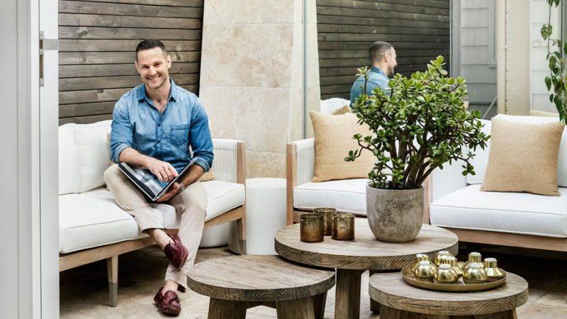 Darren Palmer's dreamy yet durable Sydney home